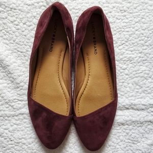 Lucky Brans Arcch Leather Upper Flats Size 11